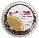 Cera brasileña hecha de azúcar, miel y limón