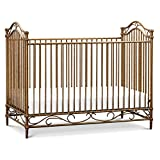 Million Dollar Baby Classic Camellia 3-in-1 Convertible Crib in Vintage Gold
