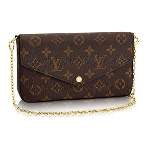 Louis Vuitton Monogram Canvas Pochette Felicie Wallets Handbag Clutch Article:M61276 18