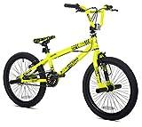 20' Thruster Chaos Boys' BMX Bike, Neon Yellow