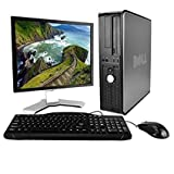 Dell OptiPlex Desktop Complete Computer Package with Windows 10 Home - Keyboard, Mouse, 17' LCD...