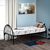 Customize Bed 10 Inch Gel Memory Foam Mattress with Bamboo Cover, Cot Size 33x74 for RV, Cot, Folding, Guest & Day Bed- CertiPUR-US Certified