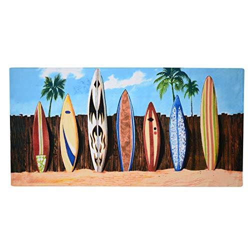 Geezy, großes Mikrofaser-Strand-Badetuch, leicht, Sport, Reisen, Fitnessstudio, Sommer-Handtücher Surfbretter
