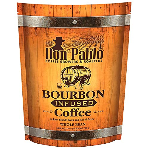 25oz Don Pablo Bourbon Infused Specialty Coffee -...