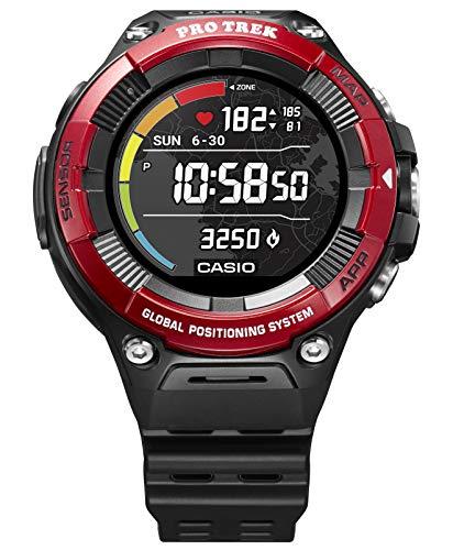 [カシオ] 腕時計 スマートアウトドアウォッチ プロトレックスマート 心拍計測機能 GPS搭載 WSD-F21HR-RD メ...