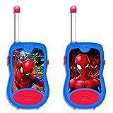 Lexibook- Spiderman Talkies Walkies Spider-Man, TW12SP