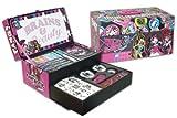 Color Me Mine - Maletín Fantasía con Pizarra pequeña, diseño Monster High (Cife 86038)
