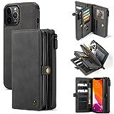 iPhone 12 / 12 Pro ケース 手帳型 財布型 レザー アイフォン 12 携帯カバー ケース手帳がた ……