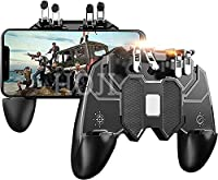 🎮 SIX-FINGER LINKAGE - You can simultaneously move, turn, left tilted head and right tilted head, aim and shoot operating by using our six-finger artifact, which could improve and augment your immersive gaming experience, and help you to be the best ...