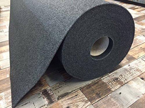 Autoteppich zur Auskleidung, Meterware in beliebiger Größe - Qualität Hit anthrazit (3m x 2m Breite)