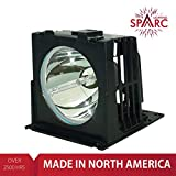 SpArc Lighting for Mitsubishi 915P026010 TV Lamp with Enclosure fits WD-52627 WD-52628 WD-62627 WD-62628