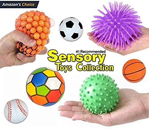 12 Pc Sensory Integration Products & Tools; Stress Reliever...