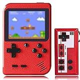KINOEE Console de Jeu Portable Mini Lecteur de Jeu rétro avec 400 Jeux FC...