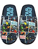 Star Wars Comic All Over Print Men's Multi-Coloured Polyester Slippers