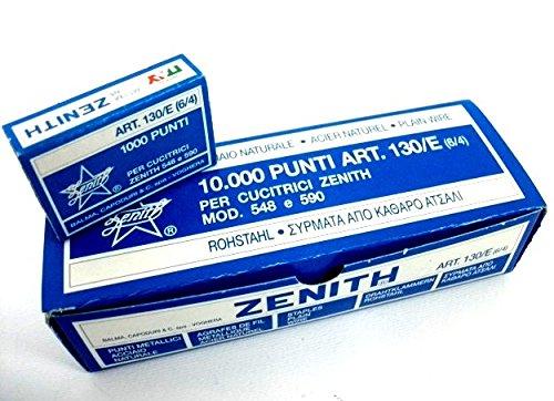 PUNTI ZENITH 130/E 10 SCATOLE DA 1000