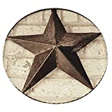 Xuanlin Manta cómoda, Manta Suave Redonda Western Star Texas para Adultos y niños