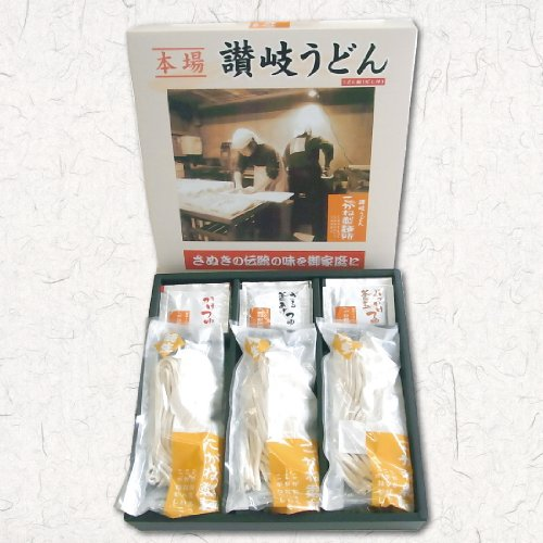 讃岐うどん こがね製麺所 オリジナル商品の詰め合わせ 18人前お土産うどんセット つゆ付