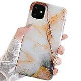 リアル大理石 iPhone 12 mini 5.4インチ ケース 大理石 マーブル カバー ソフトケース TPU ス……
