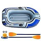 thorityau Kayak Gonflable pour Piscine, Bateau Gonflable en PVC, Canoë...