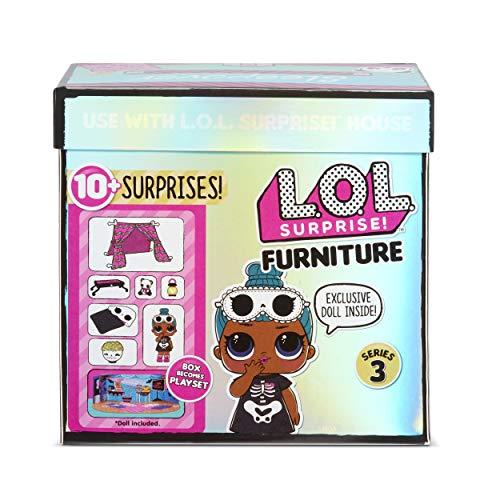 Image 3 - LOL Surprise Poupées collectionnables pour filles - Avec 10 surprises et accessoires - Sleepy Bones - Mobilier Series 3
