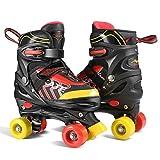 WeSkate Patin à roulettes pour Enfant Rollers Quad Respirant Confortable...
