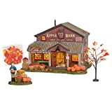 Department 56 Snow Village Halloween Apple Barn