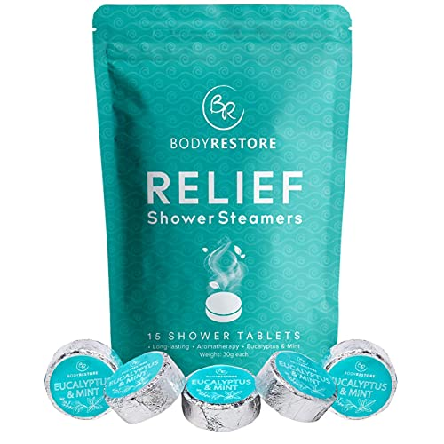 BodyRestore Shower Steamers (Pack of 15) Gifts for Women and...