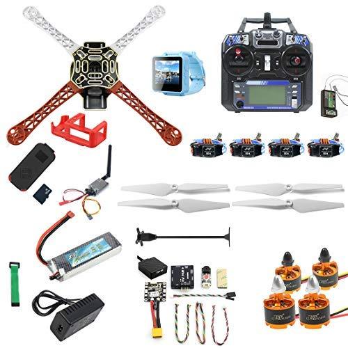 FEICHAO Kit fai-da-te RC Drone F450-V2 FPV Quadcopter con controller FS I6 MINI PIX MINI GPS Q6 4K...