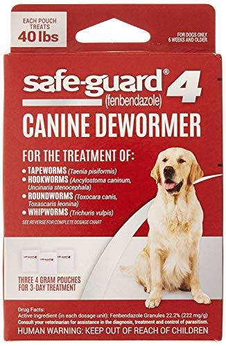 Excel 8in1 Safe-Guard Canine Dewormer for Large...