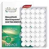 Skin Tag Remover, 120 Top-Grade Skin Tag Remover Patches, Skin Tag Remover Patches, New and Improved Formulation, 100% Natural Ingredients