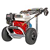 SIMPSON Cleaning ALH3228-S Cleaning ALH3228 3400 PSI at 2.5 GPM Gas Powered by HONDA GX200 Pressure Washer, Red