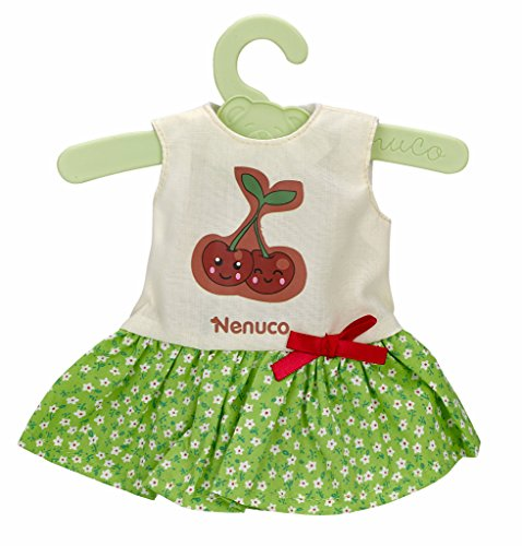 Nenuco- Vestiti con gruccia 35 cm e Motivo Ciliegie, 700012823