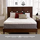 Sleep Innovations Shiloh 12-inch Memory Foam Mattress, Bed in a Box, Quilted Cover, Made in The USA, 10-Year Warranty - Queen Size