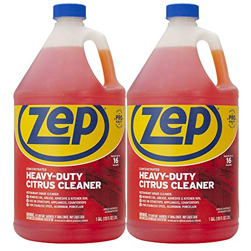 Zep Heavy-Duty Citrus Cleaner and Degreaser 128 Ounce ZUCIT128CA (Case...