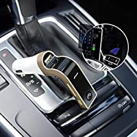 The car charger is Suitable for all types of vehicle and universal design for all types of devices, this wireless in-car fm adapter car kit works perfectly as hands-free calling device and car charger for any devices with usb or bluetooth. quality of...