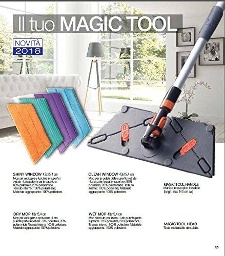 STANHOME Magic Tool - Sistema de limpieza de suelos.