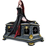 The Bradford Exchange Anne Stokes Love Without End Gothic Vampire Music Box