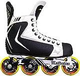 Alkali RPD Lite Senior Adult Inline Roller Hockey Skates (Skate Size 9 (Shoe 10-10.5))