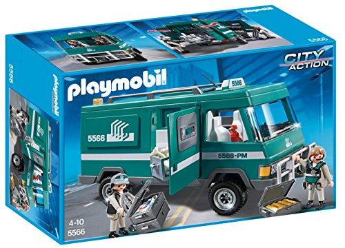 PLAYMOBIL Policía - Vehículo para Transportar Dinero, play