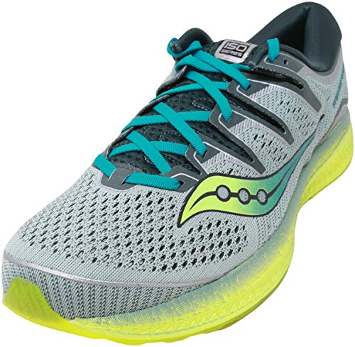 Saucony Triumph Iso 5, Men's Competition Running Shoes, Green (Verde 37), 6.5 UK (40.5 EU)