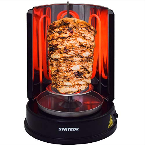 Syntrox Germany Dönergrill Rotisserie Gyrosgrill...