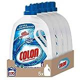 Colon Detergente Concentrado para la Ropa Gel Activo -  5 unidades x 1.70 L, total de 170 dosis