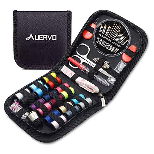 Kit de couture de voyage, AUERVO 70 fournitures de couture de qualité...