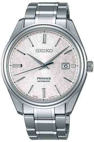 Seiko presage Herren Uhr analog Automatik mit Edelstahl Armband SJE073J1