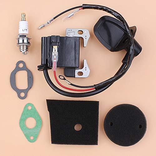 Beixi Tempo Gasket Kit Filtro Bobina di accensione Modulo Magneto Aria for Robin NB411 EC04 BG411...