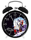 The Nightmare Before Christmas Alarm Desk Clock Home Office Decor F135 Nice For Gifts