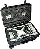 Case Club Waterproof DJI Phantom 3 Drone Wheeled Case with Silica Gel (Propellers On)