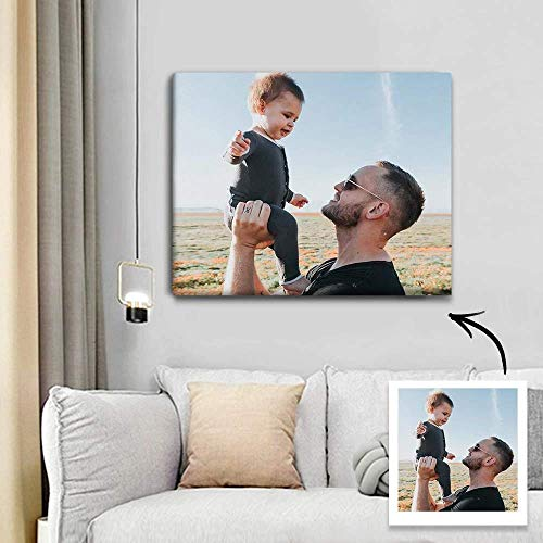 Personalized Canvas Prints with Your Photos Custom Photo Wall Art...