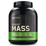 Optimum Nutrition Serious Mass, Mass Gainer avec Whey, Proteines Musculation Prise de Masse avec Vitamines, Creatine et Glutamine, Chocolat, 8 Portions, 2.73kg, l'Emballage Peut Varier