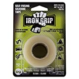 IPG SC110 Iron Grip Self-Fusing Silicone Tape, 1' x 10 ft, Clear